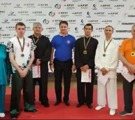 俄弟子在俄罗斯武术比赛中荣获佳绩